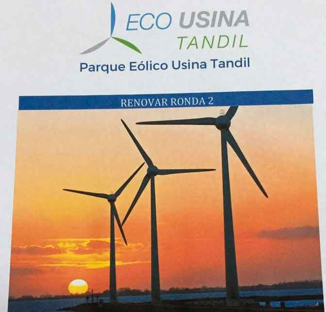 La Usina se presentó en la licitación nacional para generar energía a través de fuentes renovables