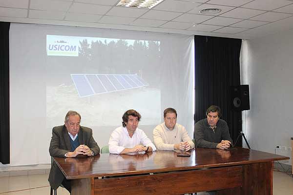 USICOM presentó el área de energías renovables
