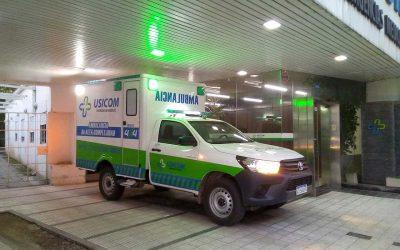 Usicom presentó la primera ambulancia 4×4 de alta complejidad