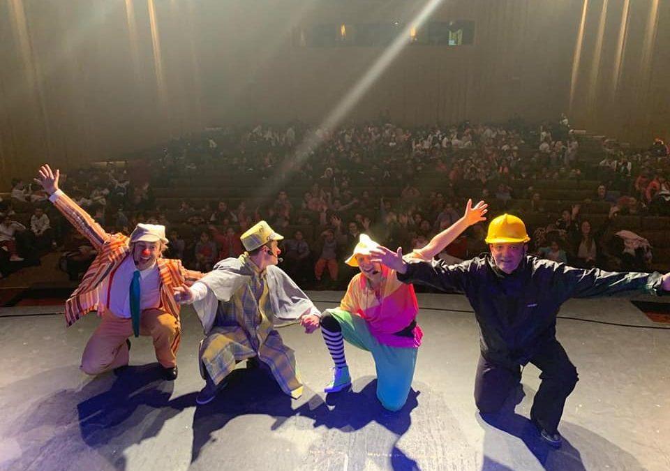 Miles de chicos participaron del proyecto educativo y teatral de la Usina