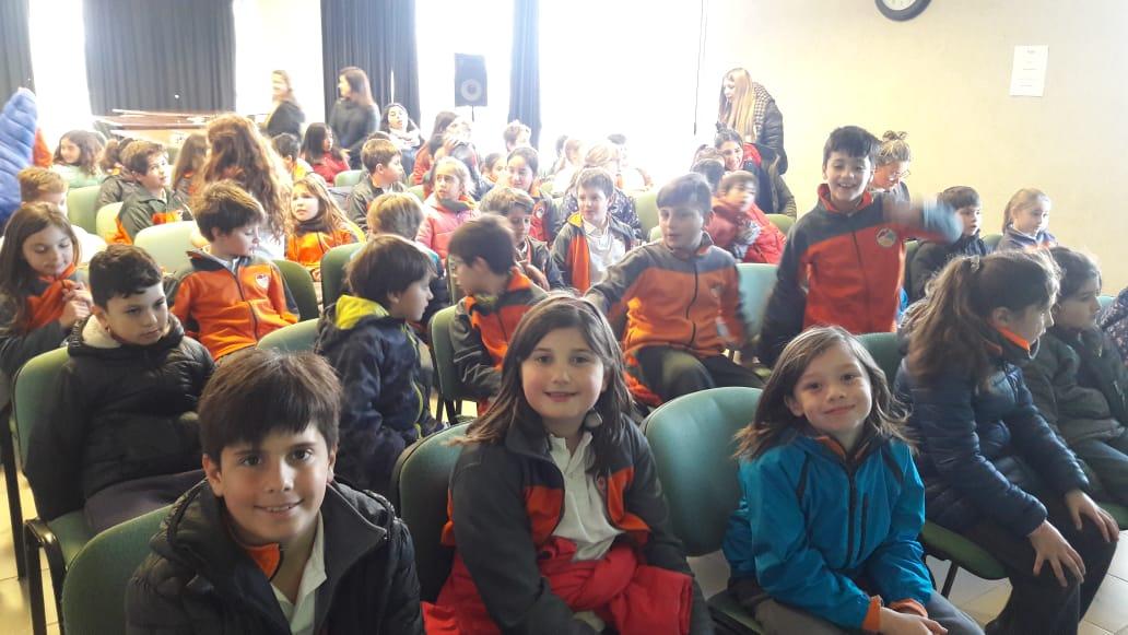 Nos visitaron alumnos del colegio Aprenderes