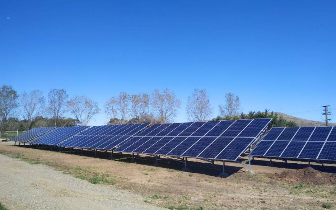 Pusimos en marcha nuestro primer Parque Solar