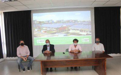 Energías renovables: La Usina de Tandil presentó el proyecto «Comunidades Solares»