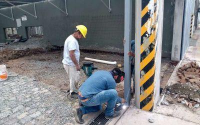 La Usina comenzó las obras para la colocación del primer surtidor eléctrico