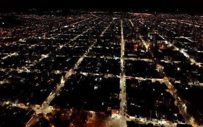 La Usina y el Municipio ya instalaron más de 5000 lámparas Led en el alumbrado público de la ciudad
