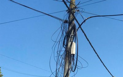 La Usina detectó tendido clandestino de cables sobre sus instalaciones