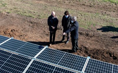 Comunidades Solares ya es una realidad y en las próximas horas comenzará a inyectar energía a la red de la ciudad