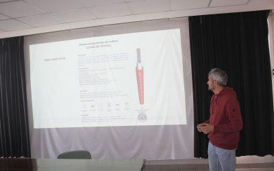Se retomó la presencialidad en el curso sobre energías renovables en la Usina