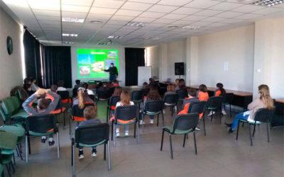 Visita de alumnos del Colegio Aprenderes